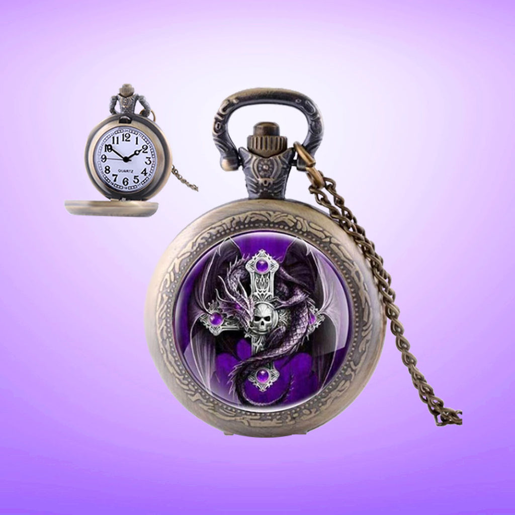 Steampunk Pocket Watch for Her