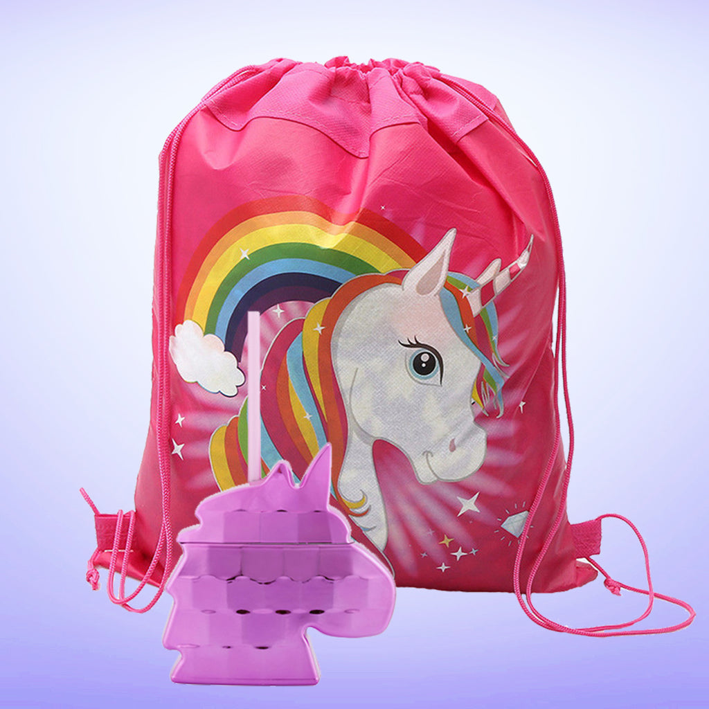 Unicorn Backpack & Cup 1