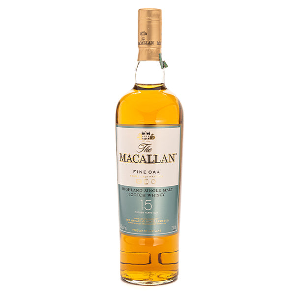 Macallan Fine Oak Scotch 15 Year