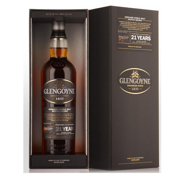 Glengoyne Sherry Matured 21 Year Old Single Malt Scotch Whisky - 700ml