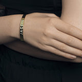 Ari&Lia Delicate Customize Cz Bangle