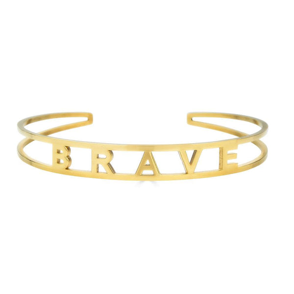 Ari&Lia Empowered Bangles Brave Adjustable Empowered Bangle