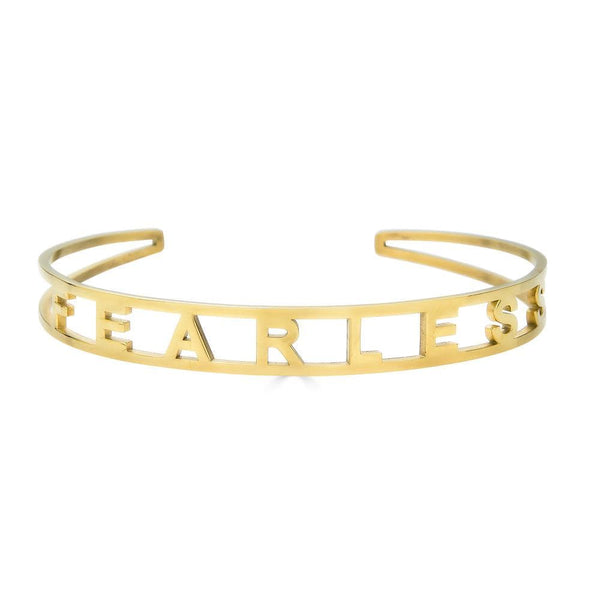 Ari&Lia Empowered Bangles Fearless Adjustable Empowered Bangle