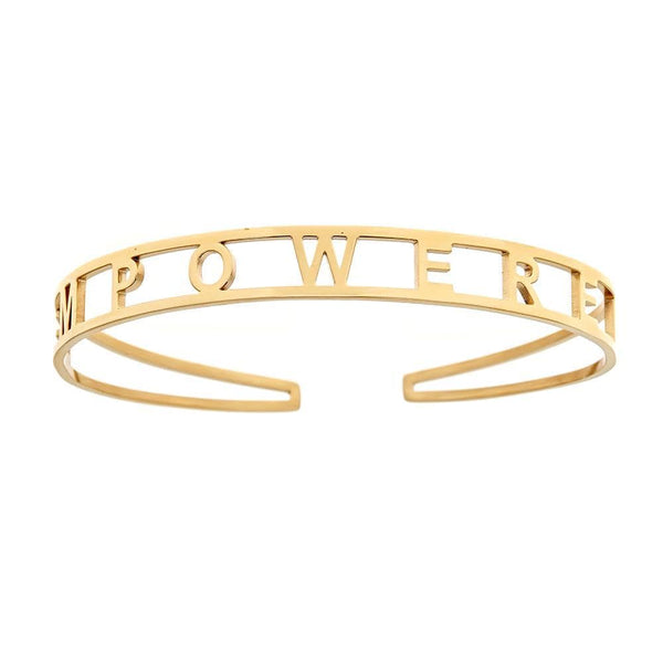 Ari&Lia Empowered Bangles Yellow Empowered Adjustable Bangle