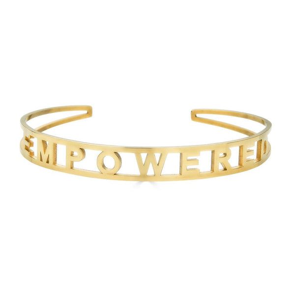 Ari&Lia Empowered Bangles Yellow Stackable Empowered Bangle ST5059-EMPOWERED