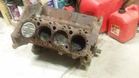 Rusty chevy short block