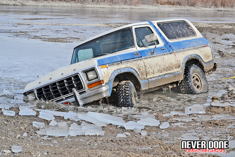 78-79 Bronco in an icy grave - Never Done - Clint Grover