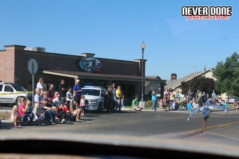 2016 Never Done Car Show Parade - Celebrate Blackfoot - Clint Grover
