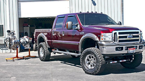2005 Ford F350 Super Duty V10 with nitrous