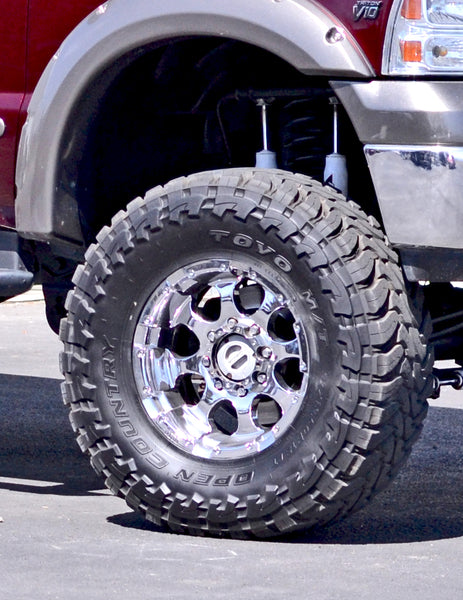 "37"" Toyo Open Country M/T tires with 18"" Moto Metal wheels - Never Done"