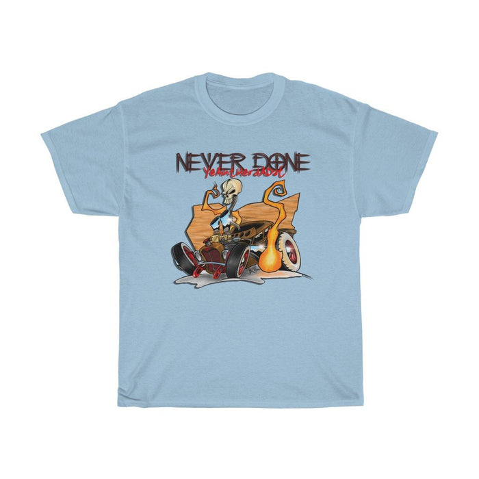 Dual Carb Rat Rod Heavyweight T-Shirt