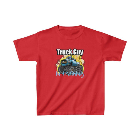 Truck Guy In Training Boys T-Shirt