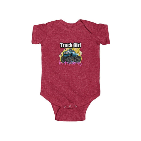 Truck Girl In Training Onesie