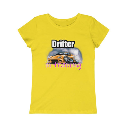 Drifter In Training Girls Princess Tee