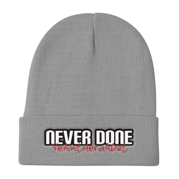 Never Done Legend - Knit Beanie