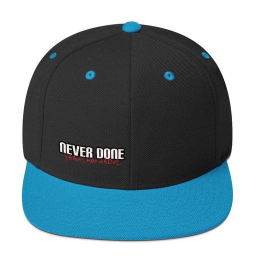 Never Done Legend Flat Bill Snapback Hat