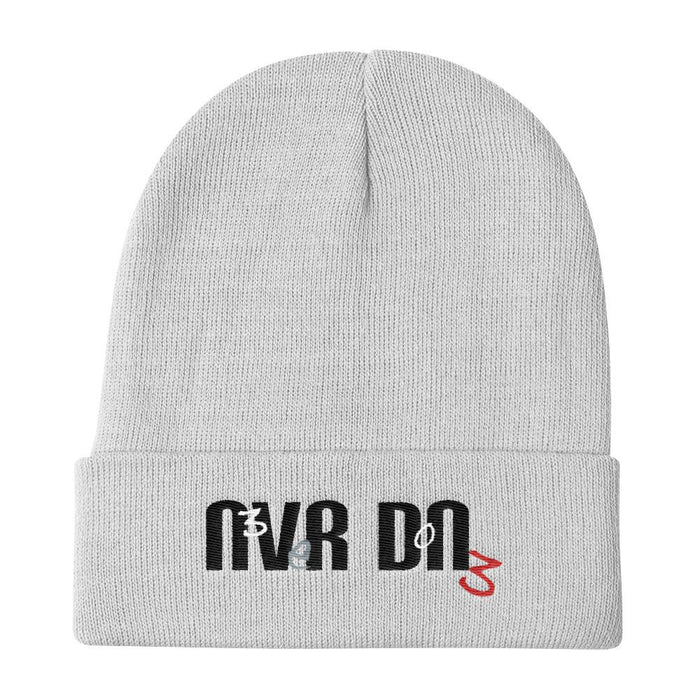 Never Done Super Clean - Knit Beanie - White