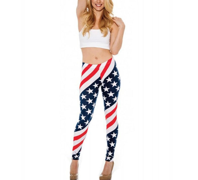 LaMonir Patriotic Leggings 1539522