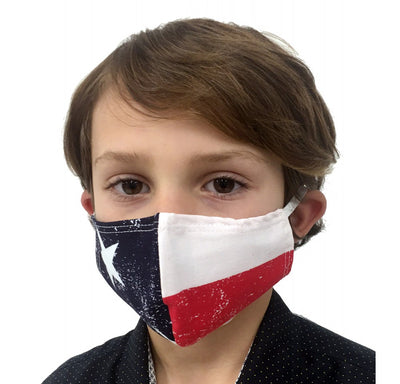 3PK Child Reusable Fully Lined Cotton Face Mask- 167C2183