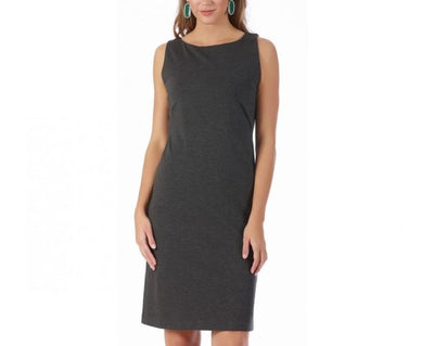 LaMonir Short Sleeveless Boatneck Dress 16814M