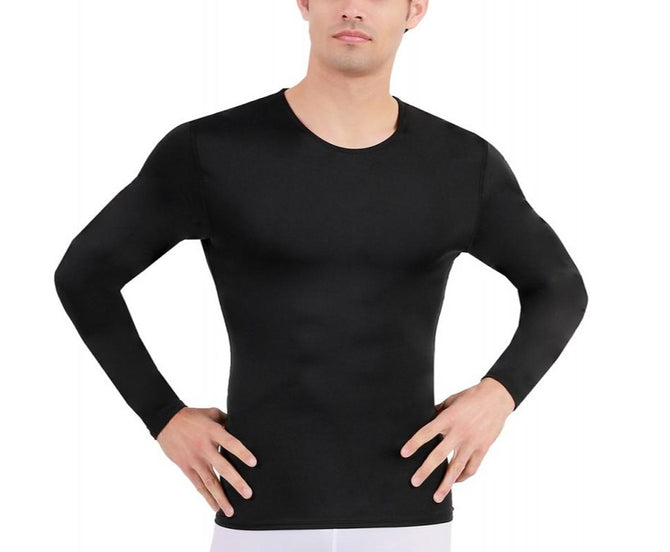 3-Pack I.S.PRO USA Long Sleeve Active Wear Medium Compression Crew Neck - 2TLST013