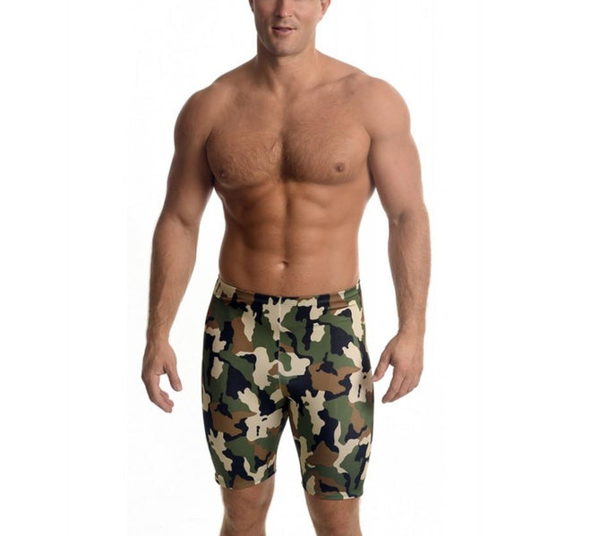 I.S.PRO USA Big&Tall Active wear Medium Compression Camouflage Undershorts 3MA2077BT