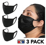 3-Pack Disposable 2-Layer Face Masks - 200M2173