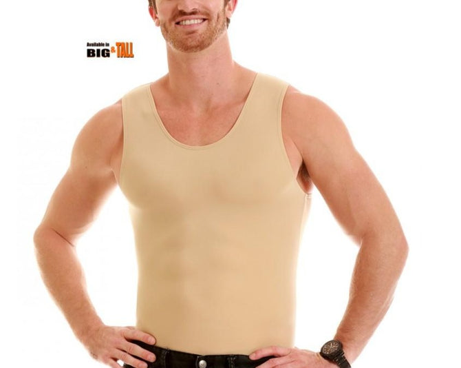 Insta Slim Men's Compression Big&Tall Muscle Tank MS0001BT