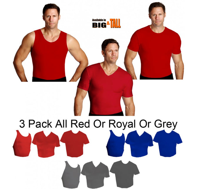 3-Piece I.S.PRO USA Big&Tall Activewear Variety Pack  PKA003
