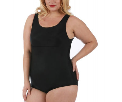 Instant Figure Curvy Tank Brief Bodysuit WBS006C