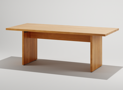 Andrea Oak  Dining Table