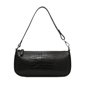 Sac à main cuir vegan Alligator pour femme - FACE AMAZ-ON
