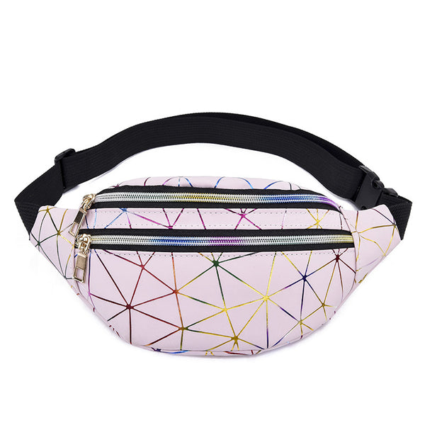 Sac ceinture laser multicouches - FACE AMAZ-ON