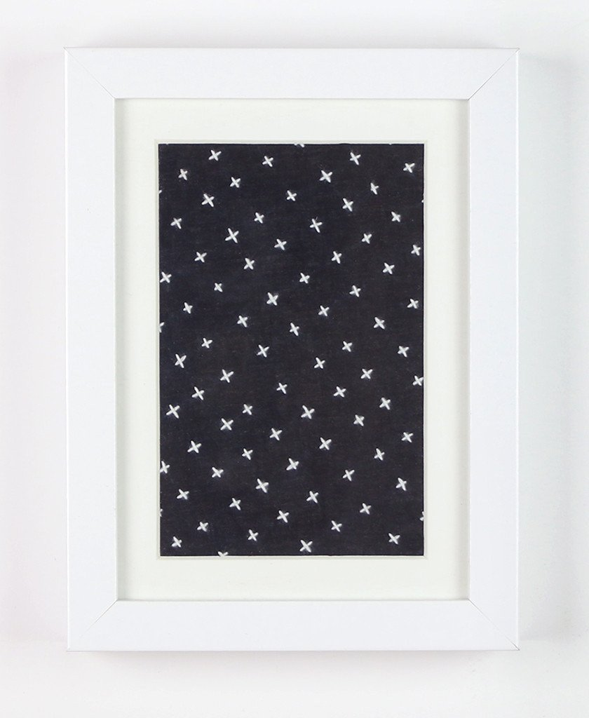 Framed Textile Art Small- Anchal Project | Love This Framed Textile ...