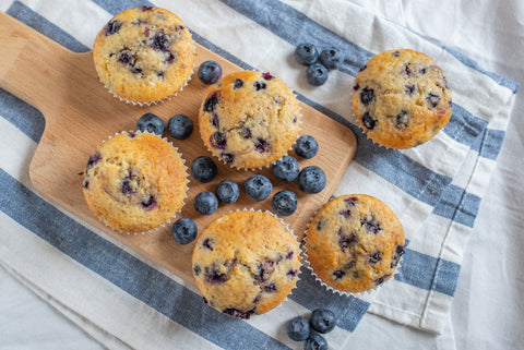 Blueberry muffin: Wholesome Go Blog
