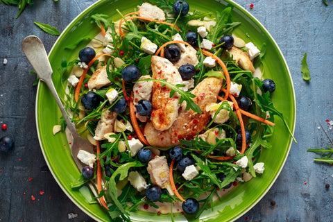 Blueberry Balsamic Chicken: Wholesome Go Blog