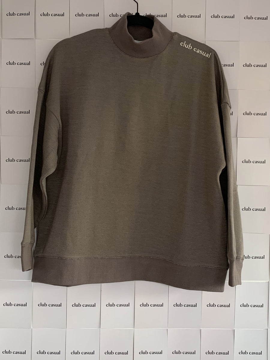Everyday Mock Neck Sweatshirt