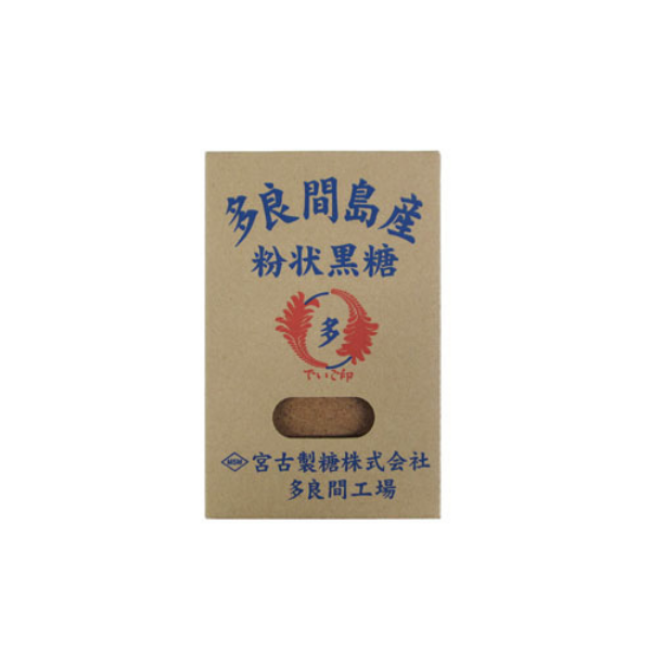 Powdered Kokuto Brown Sugar ~ Tarama Island ~ 200 g - Kenko Root