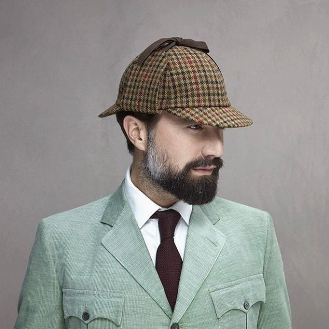 Tweed Deerstalker hat - Christmas Gifts - Lock & Co. Hatters London UK