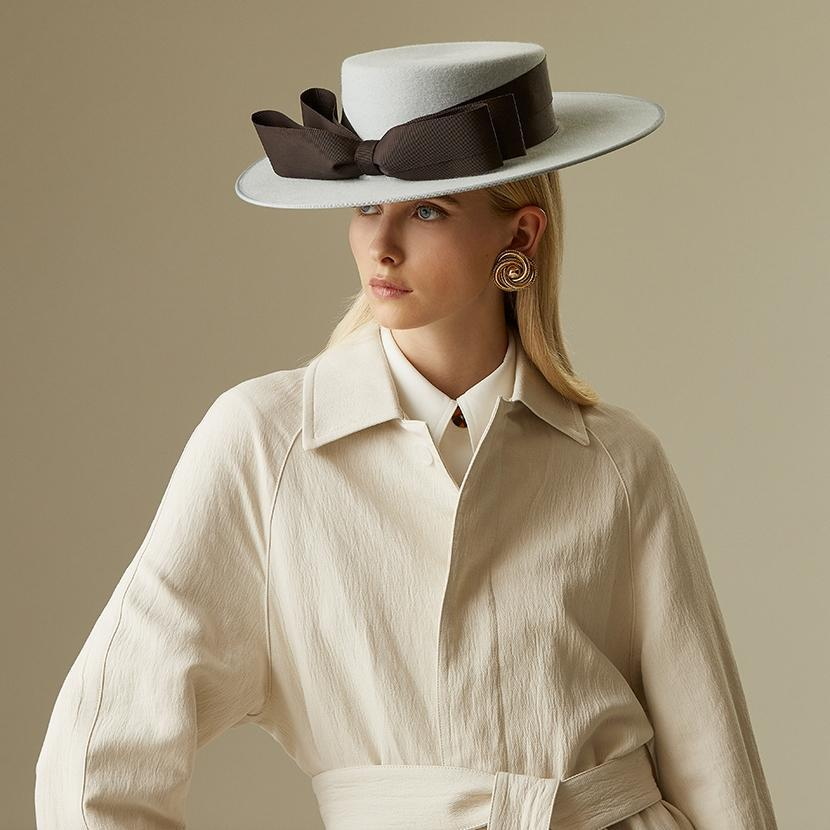 Adrienne boater - Products - Lock & Co. Hatters London UK