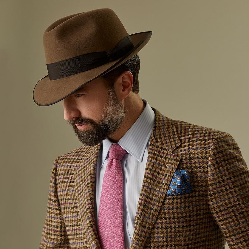 Escorial Wool Albany trilby - Escorial Wool hats - Lock & Co. Hatters London UK