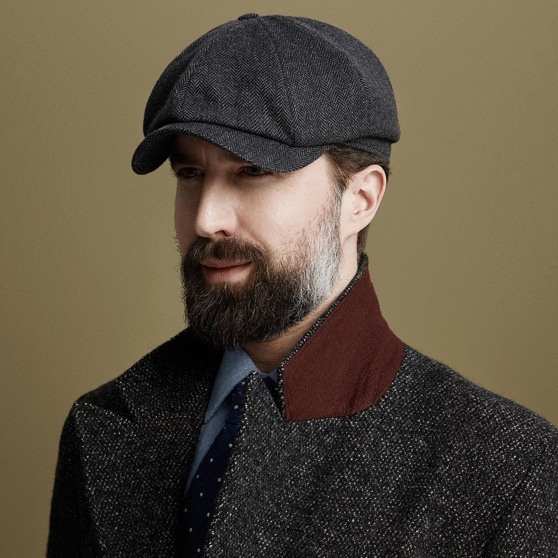 Cashmere Newsboy cap - Christmas Gifts - Lock & Co. Hatters London UK