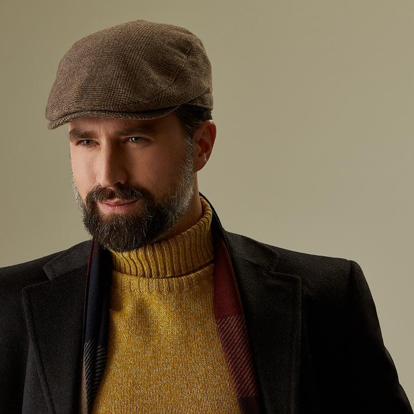Escorial Wool Grosvenor flat cap - Escorial Wool hats - Lock & Co. Hatters London UK