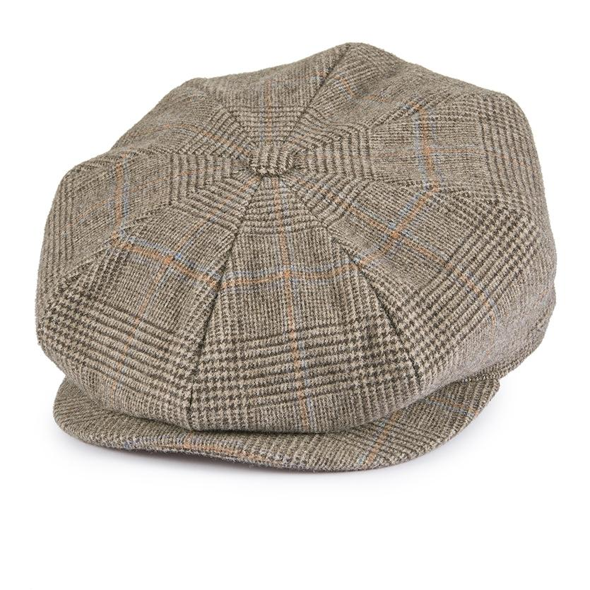 Escorial Wool Tremelo baker boy cap - Escorial Wool hats - Lock & Co. Hatters London UK