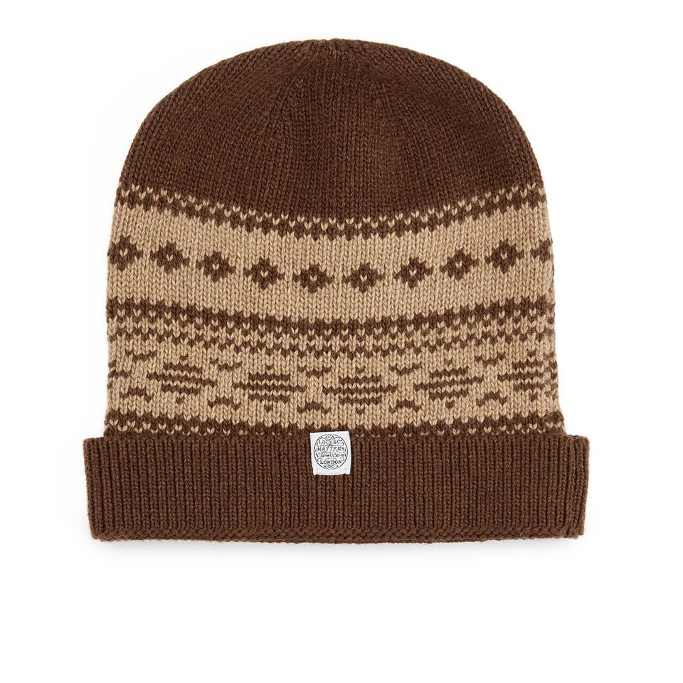 Fair Isle beanie - Beanies - Lock & Co. Hatters London UK