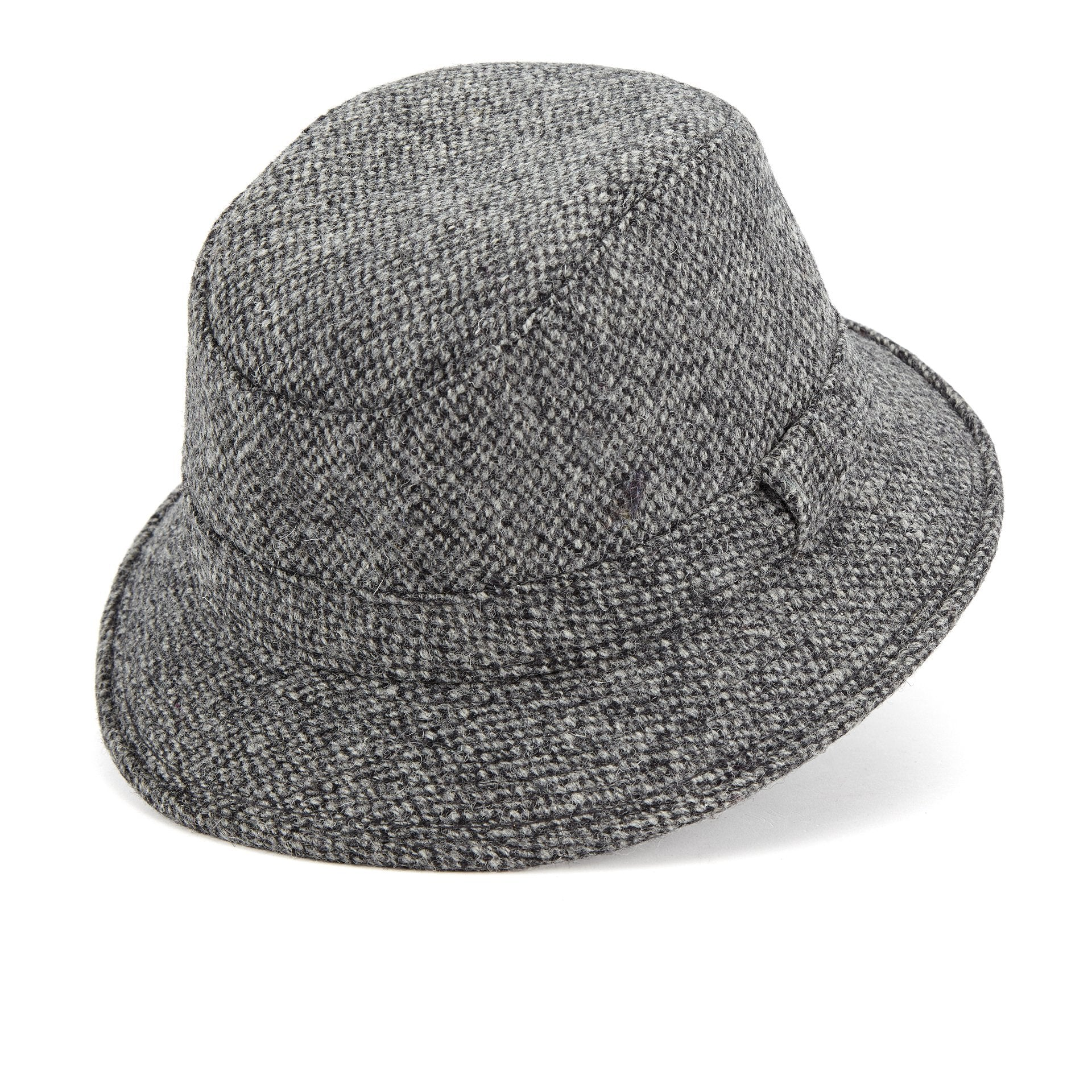 Lock x Harris Tweed Grouse rollable hat - Men's Bucket hats - Lock & Co. Hatters London UK