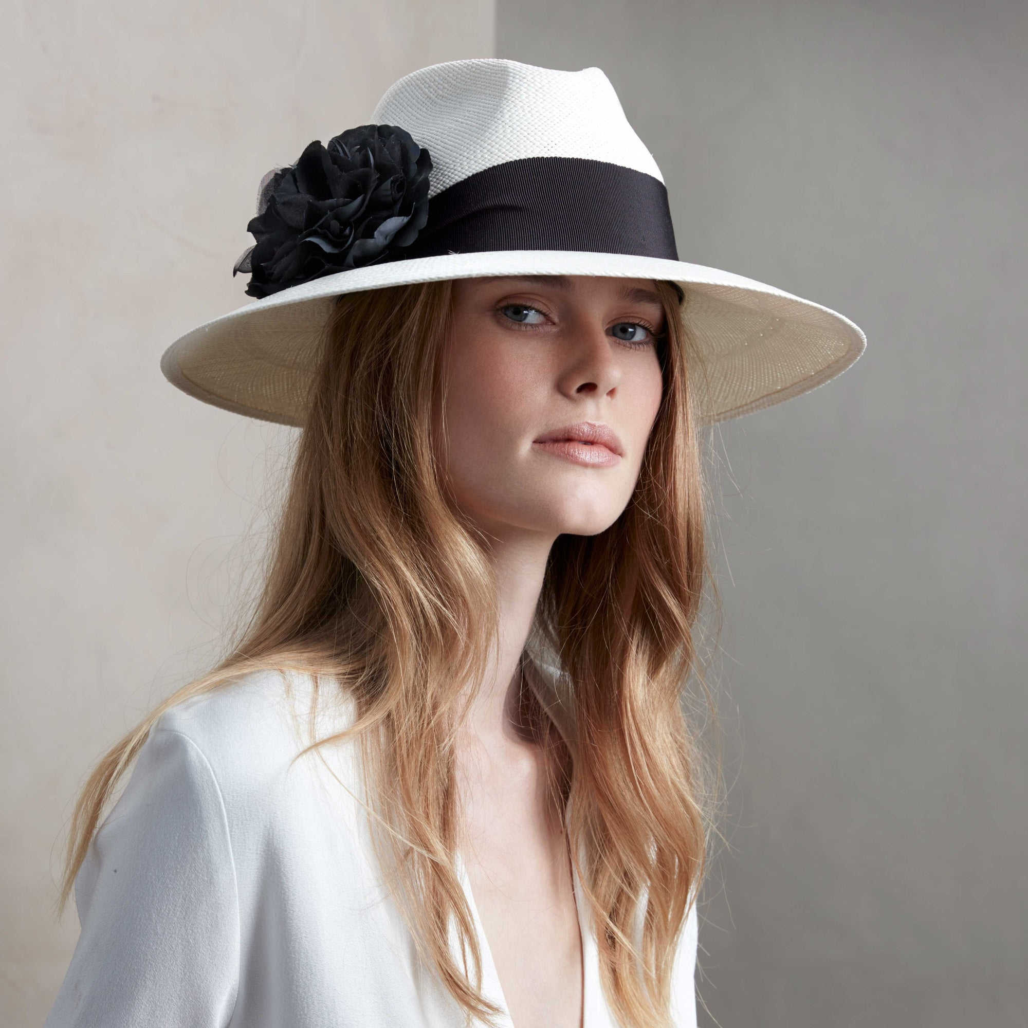 Luxor Panama hat - Panamas, Straw and Sun Hats for Women - Lock & Co. Hatters London UK