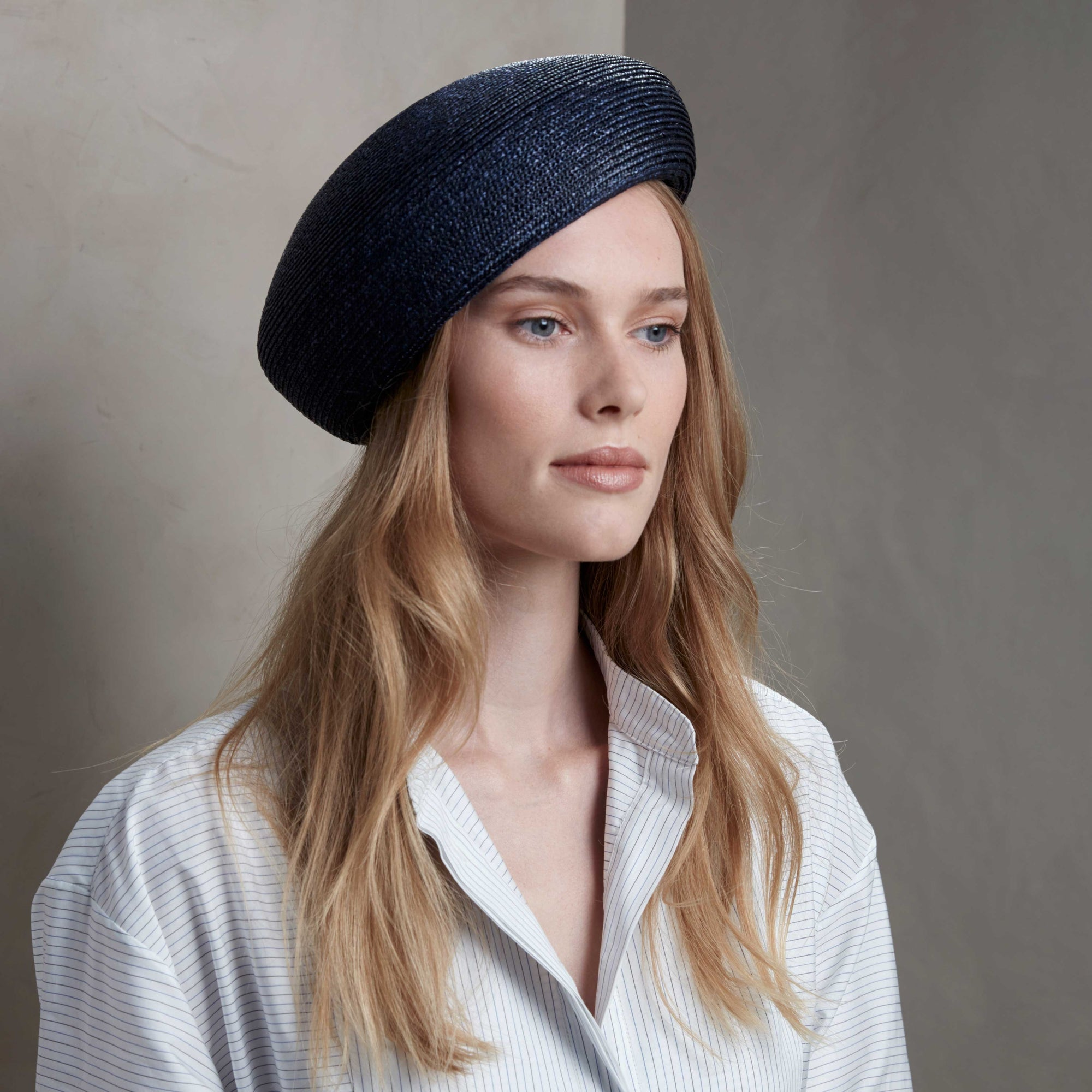 Peddle blocked beret - Women's hats - Lock & Co. Hatters London UK