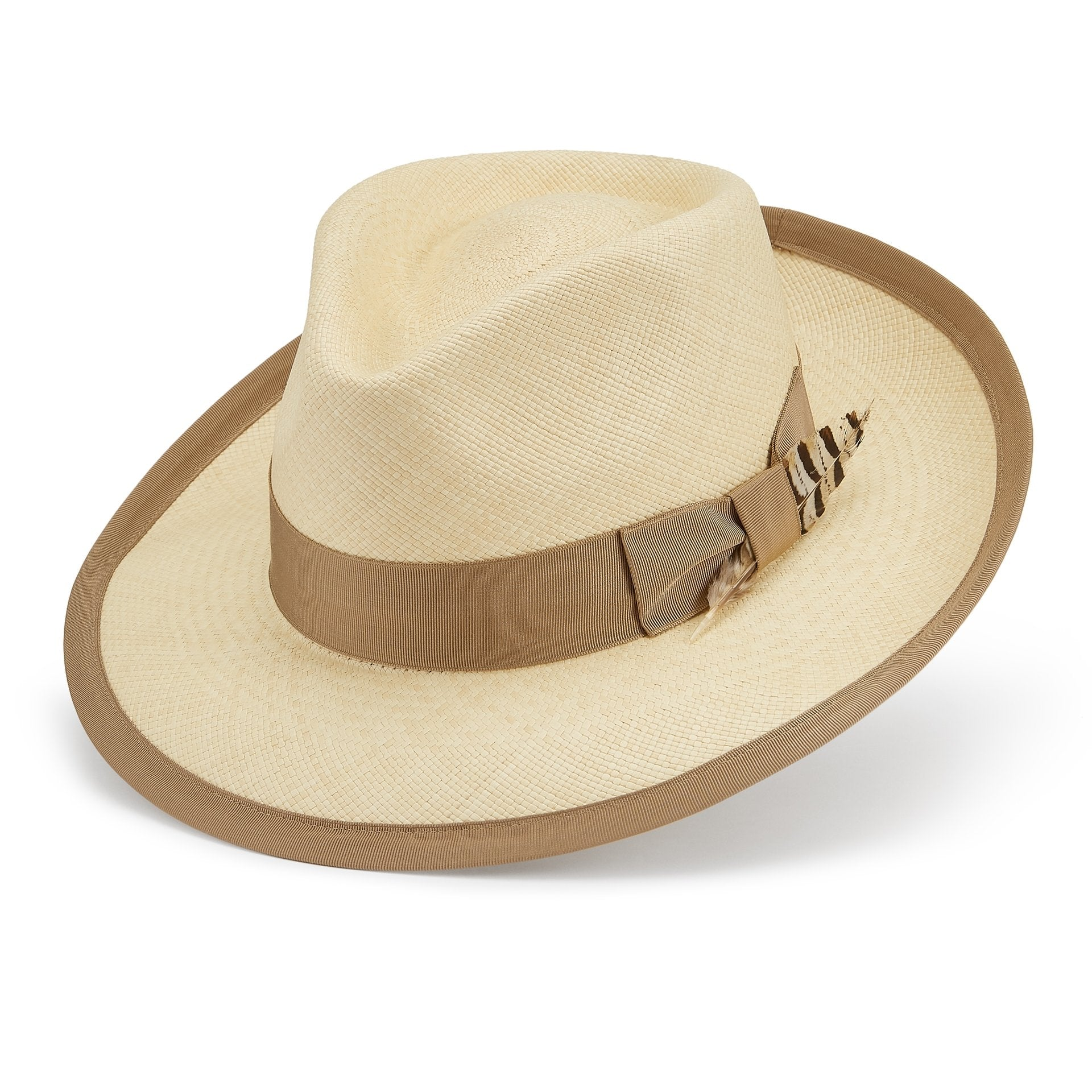 San Diego Panama hat - Panamas, Boaters and Straw sun hats - Lock & Co. Hatters London UK