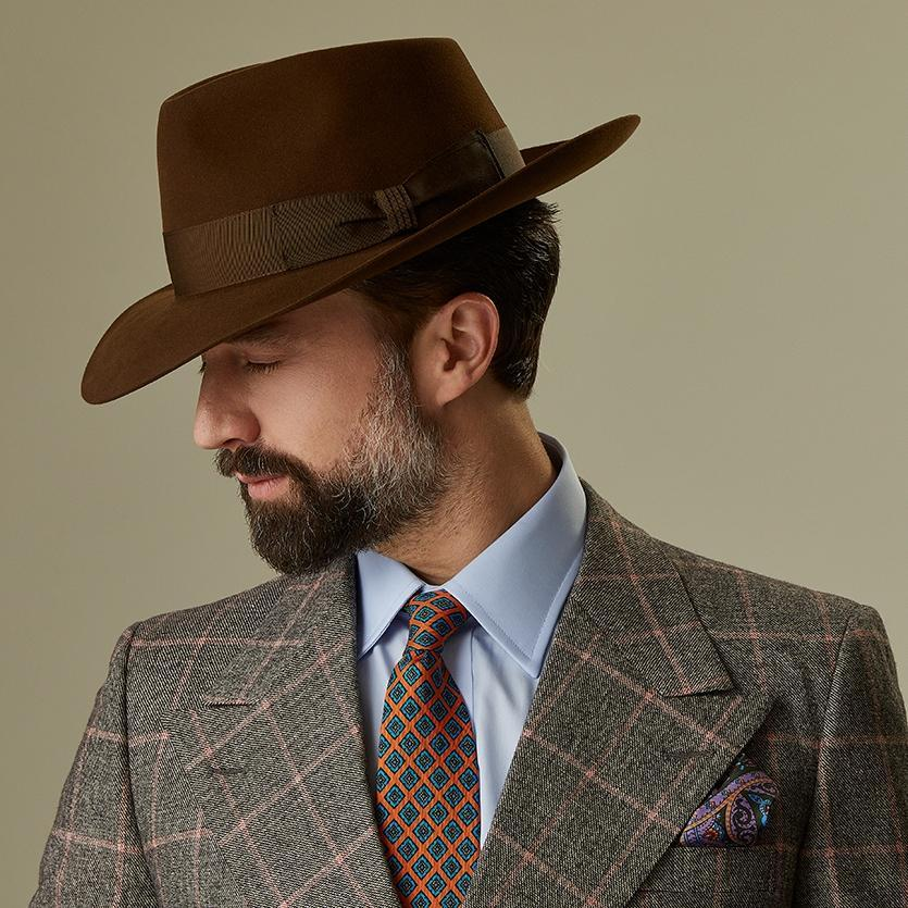 Escorial Wool Stafford fedora - Escorial Wool hats - Lock & Co. Hatters London UK